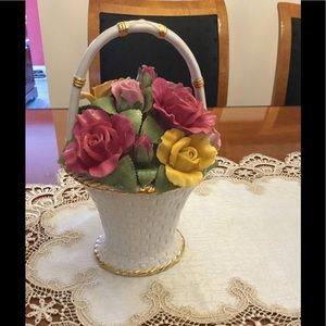 Other - Royal Albert Old Country Roses Music Basket